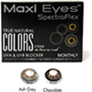 Maxi Eyes True Natural Colors 3 Tone Monthly 2 Pack Kontaklinsen