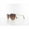HIS polarized HPS98101-2 54 brown / brown gradient with silver flash polarized