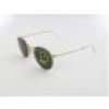Ray Ban Round Metal RB3447 001 47 gold / crystal green