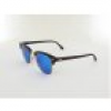 Ray Ban Clubmaster RB3016 114517 51 sand havana gold / grey mirror blue