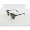 Ray Ban Clubmaster RB3016 W0366 51 mock tortoise arista / crystal green