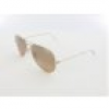 Ray Ban Aviator Large Metal RB3025 001/3E 58 arista / crystal brown pink sil