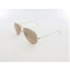 Ray Ban Aviator Large Metal RB3025 001-3E 55 arista / crystal brown pink sil