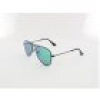 Ray Ban Aviator KIDS RJ9506S 201/3R 50 matte black / light green mirror gree