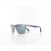 Superdry Ace 005 57 shiny gun navy / solid smoke with silver flash mirror