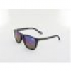 Superdry Shockwave 127 53 matte black rubber / grey - violet mirror